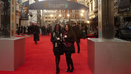 Young reporters at BAFTA 2016