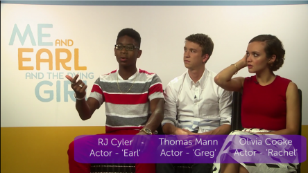 Me and Earl and the Dying Girl Interviews