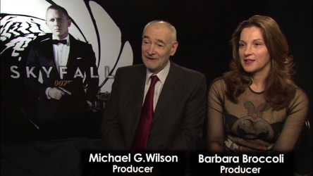 An interview with Skyfall producers Barbara Broccoli and Michael G. Wilson.
