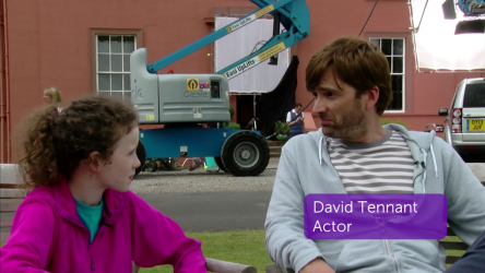 What We Did on our Holiday Set Visit - David Tennant