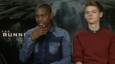 The Maze Runner Interview with cast and director
