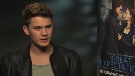 Jeremy Irvine - Great Expectations interview