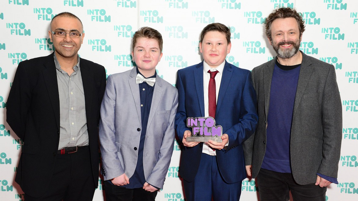 Warrington Youth Club with Michael Sheen at the Into Film Awards