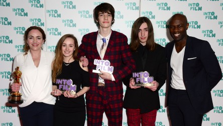 Winners of the Ones to Watch awards at the 2016 Into Film Awards