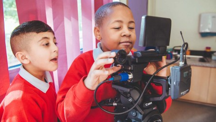 Young People Filmmaking