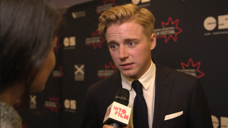 Tommy's Honour star Jack Lowden at EIFF