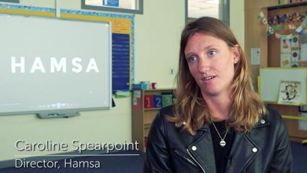 Hamsa director Caroline Spearpoint