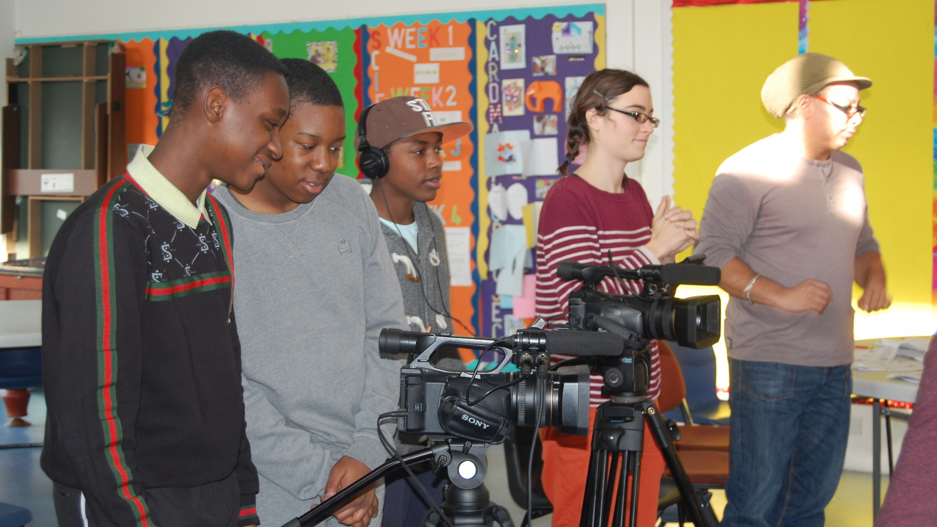 A mini filmmaking guide to support young people to have all of the elements