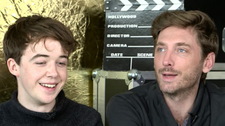 Alex Lawther and Andrew Steggall talk about Departure