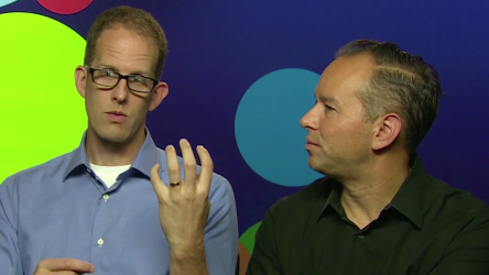 Pete Docter and Jonas Rivera