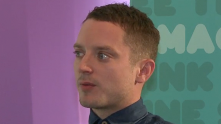 Elijah Wood talks Dylan Thomas on Sets Fire to the Stars