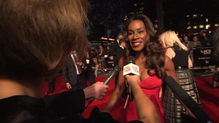 Amma Asante at London Film Festival opening gala