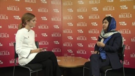 Nobel Peace Prize winner Malala Yousafzai discusses the power of education