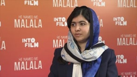 Nobel Peace Prize winner Malala Yousafzai discusses the importance of equal
