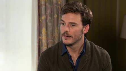 Sam Claflin talks 'Their Finest'