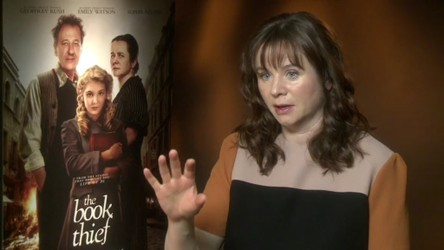 Reporter Molly talks to the director of The Book Thief, Brian Percival and