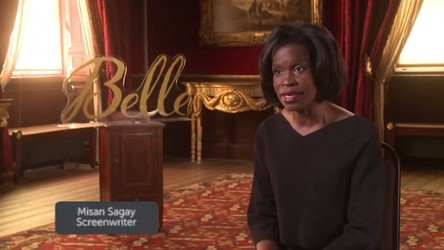 Screenwriter Misan Sagay talks about the inspiration for period drama Belle