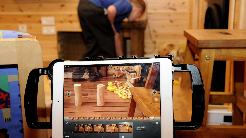 iPad filmmaking