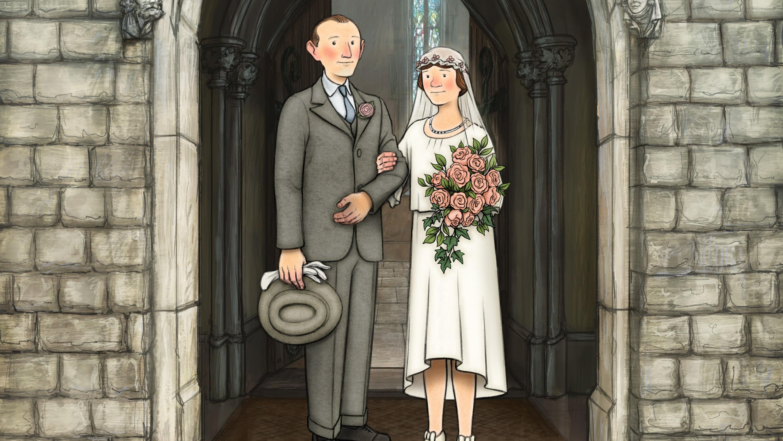 Ethel and Ernest Briggs wedding.