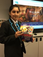 Esha, The Crest Academy, Roald Dahl competition winner