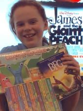 Faith, Meadows Primary School & Nursery, Roald Dahl competition winner