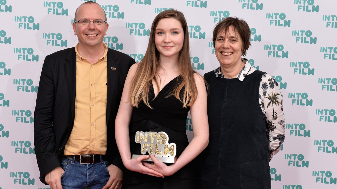 Review of the Year winner Dorothy with Col Needham and Rebecca O'Brian