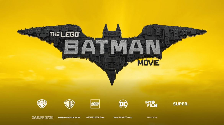 The LEGO® Batman Movie poster + logos
