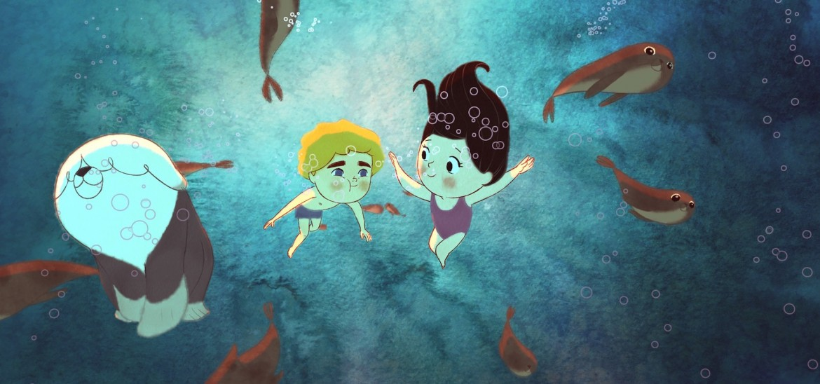 Song of the Sea underwater