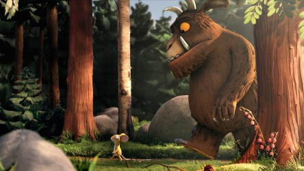 The Gruffalo and mouse