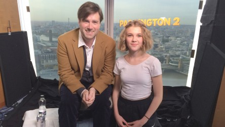 Paddington 2 reporter with Paul King
