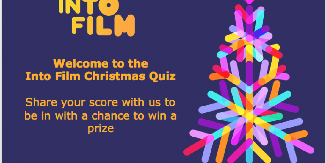 This image os the title slide for the Christmas Quiz.