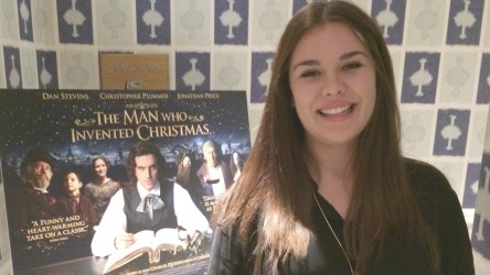 The Man Who Invented Christmas - Dan Stevens Interview