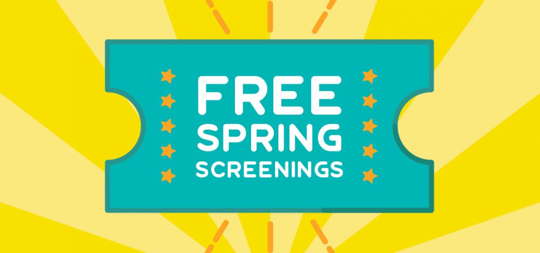 Spring Screening 2018