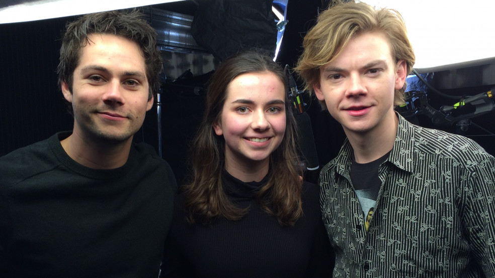 Maze Runner Death Cure Dylan and Thomas with Alexa