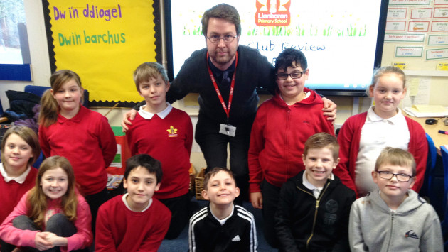 Into Film Club of the Month Feb 2018 - Llanharan Primary School, Wales