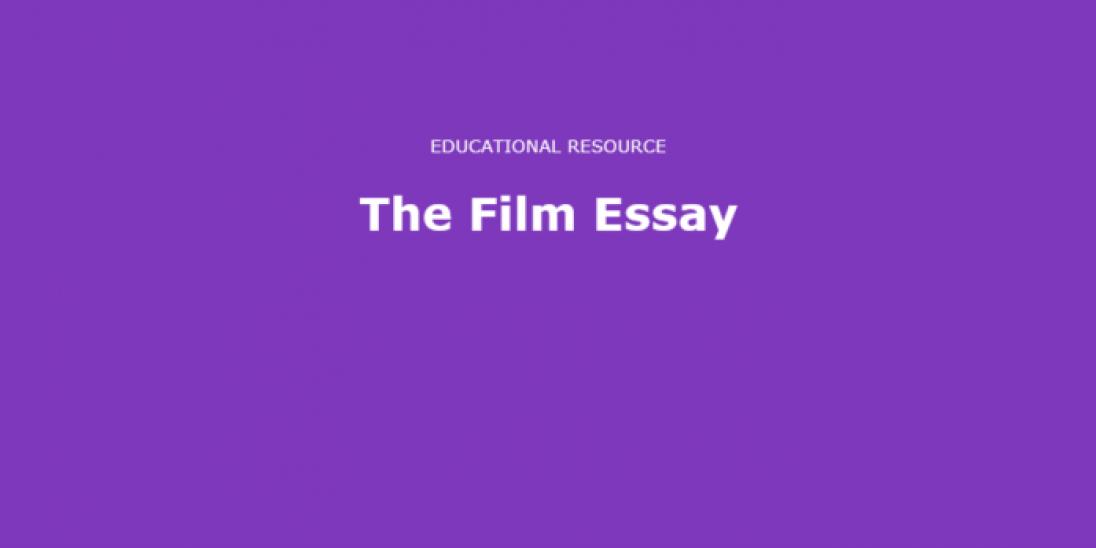 Film Essay cover image