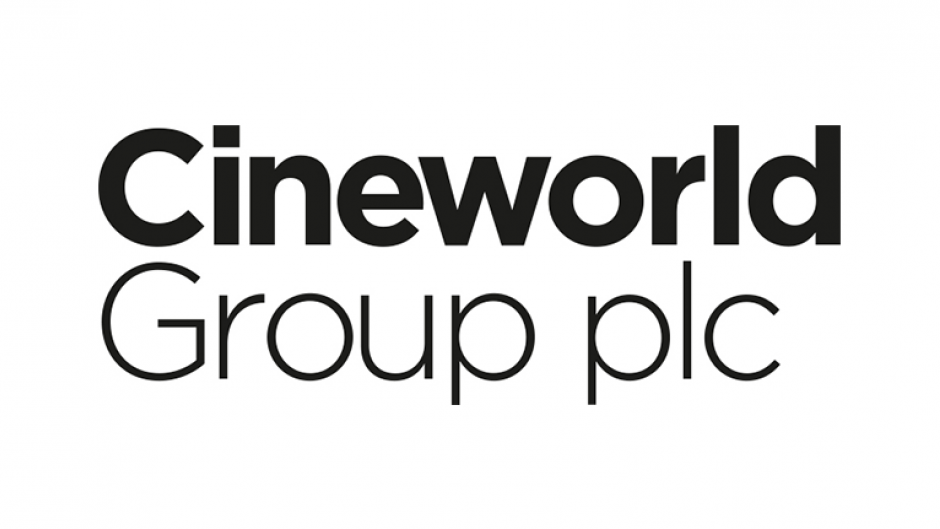 Cineworld Group Logo awards sponsor
