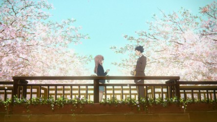 A Silent Voice film still