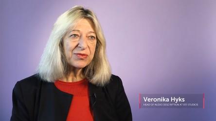 Veronika Hyks, Audio Description Expert
