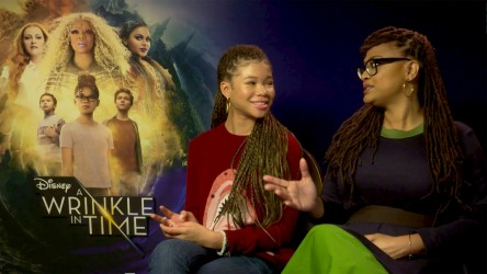 Storm Reid and Ava DuVernay talk 'A Wrinkle in Time'