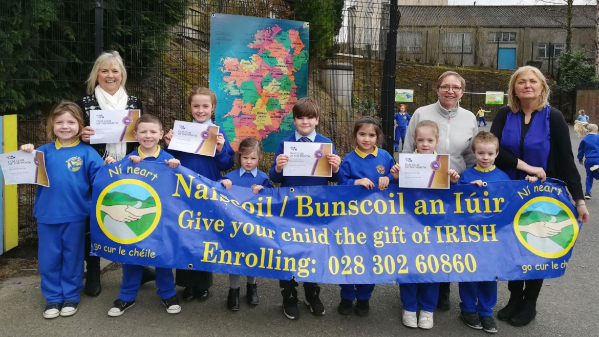 Bunscoil An Iuir Into Film Club, Newry, Northern Ireland
