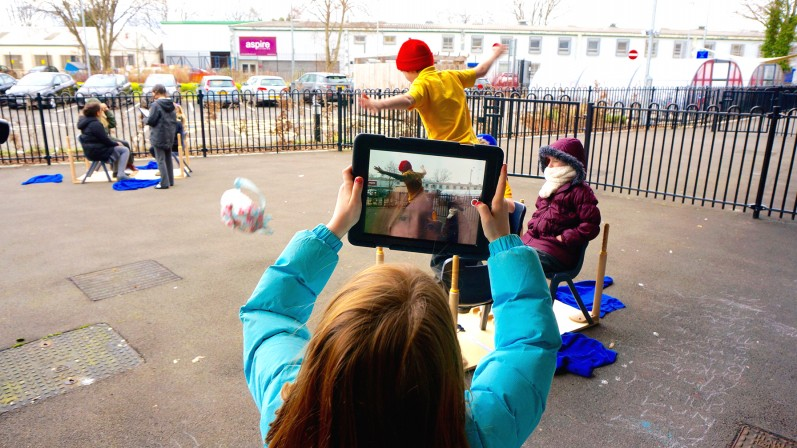 iPad Filmmaking (playground)