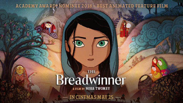 The Breadwinner resources page header