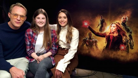 Avengers: Infinity War interview with Elizabeth Olsen and Paul Bettany
