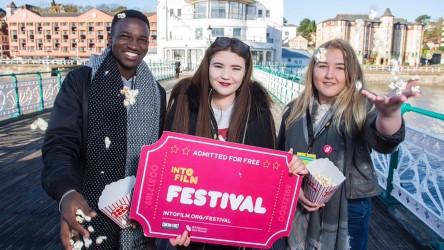 Into Film Festival banner 2018