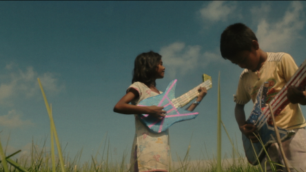 Film still for Village Rockstars Lexi screening