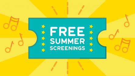 Free Summer Screenings ticket image