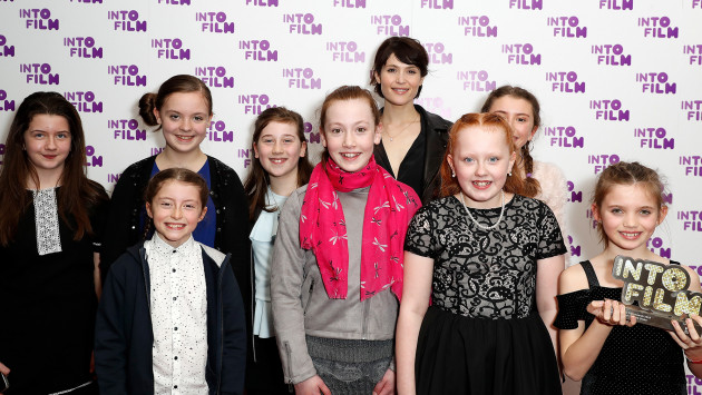 Gemma Arterton with Live Action 12 and Under winners 2018