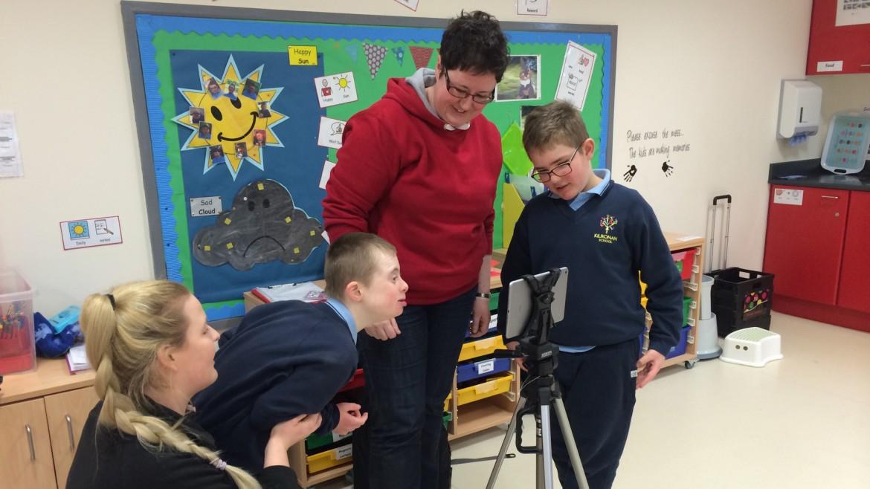 Filmmaking in an SEN school
