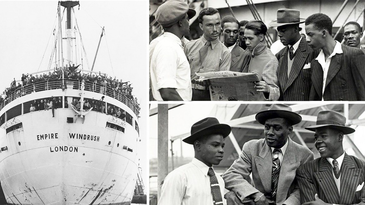 Archive images of the Windrush Generation